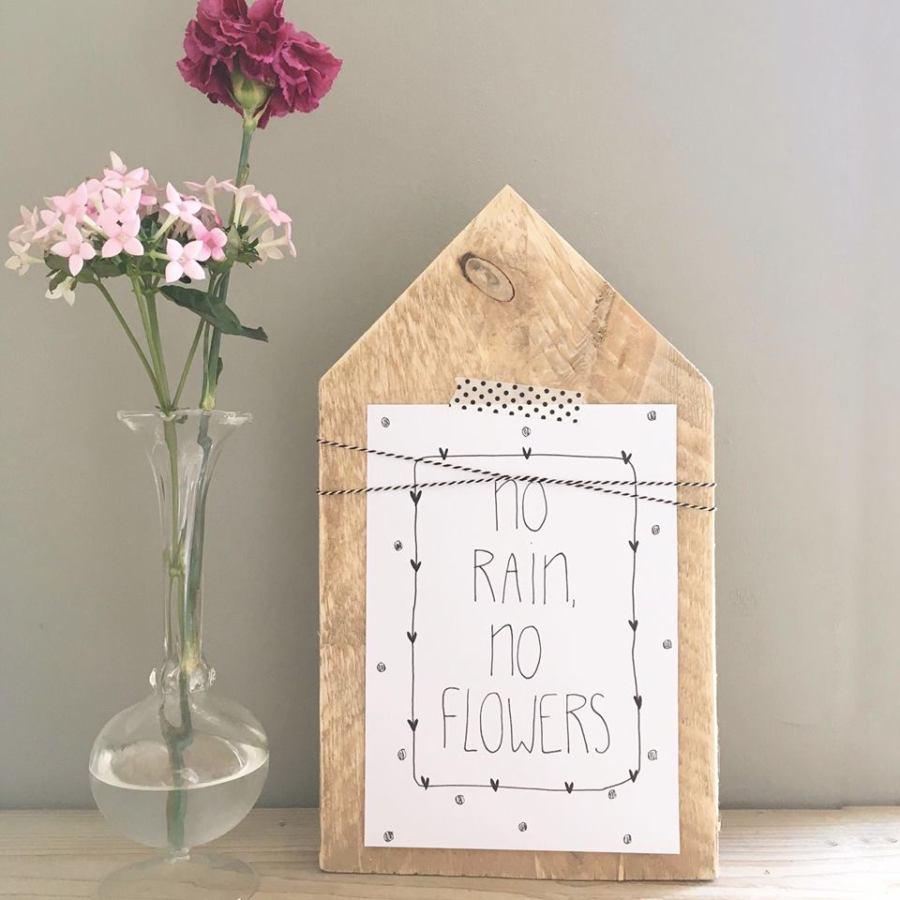 houten - huisje - cadeau - lievigheidje - puur van geluk