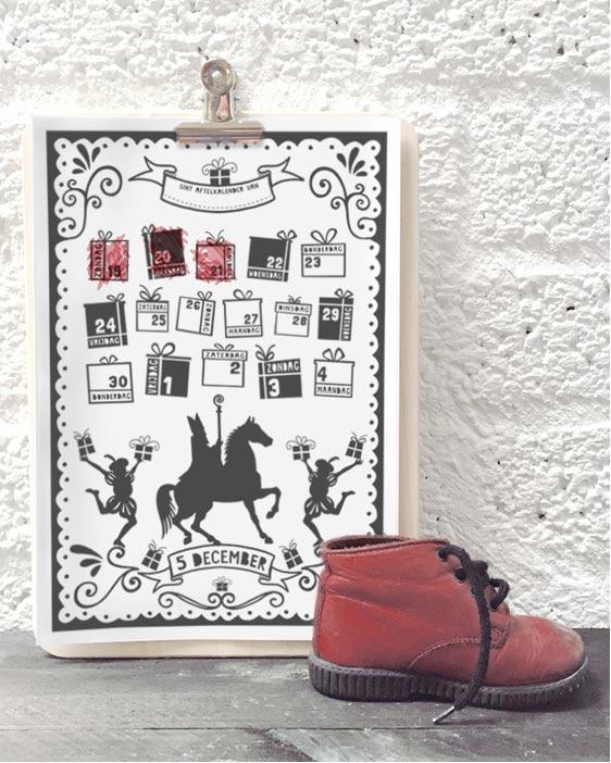 sint-printable-schoenkalender