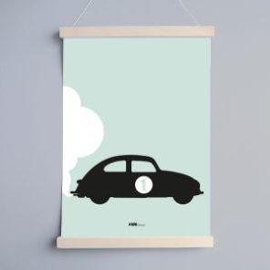 poster-A3-latjes-ANNI-auto-nummer-1-nieuw-groen-300x300