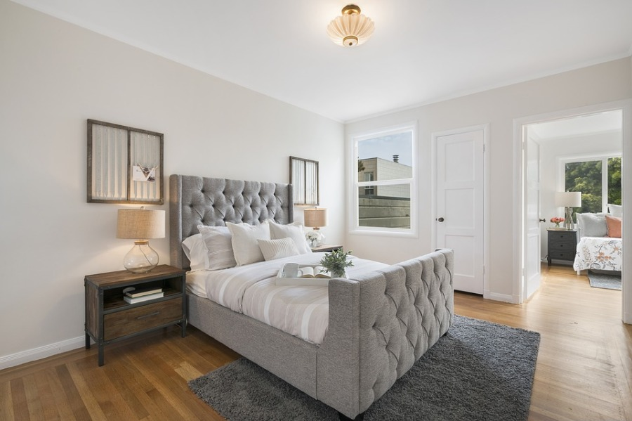 nieuwe slaapkamer bed inrichting puurvangeluk