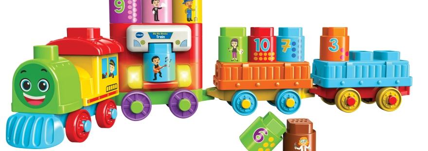 Bla Bla Blocks - Trein main - puur van geluk