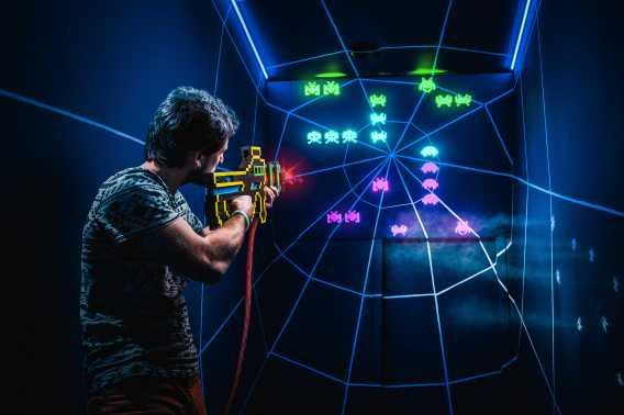 Arcade Invasion Amsterdam Escape Room
