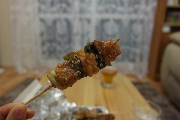Binchotan-chicken-skewer