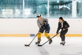 Tilburg - Vrij ijshockey 19-10-2019. Ireen Wust IJsbaan. IJssport, IJshockey.