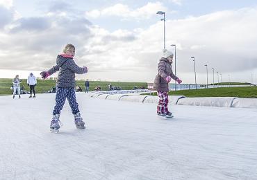 kinderfeestje schaatsen_0