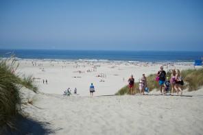 Stranddag Terschelling in de zomer