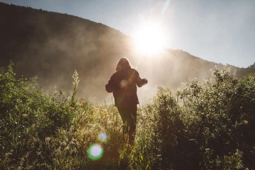 tips langzamer leven buiten natuur